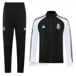 Chandal de Chaqueta del Real Madrid 2020/2021 Negro y Blanco