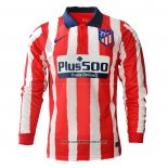 Camiseta Atletico Madrid Primera Manga Larga 2020/2021