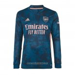 Camiseta Arsenal Tercera Manga Larga 2020/2021
