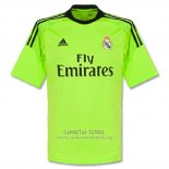 Camiseta Real Madrid Portero Segunda 2013-14
