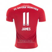Camiseta Bayern Munich Jugador James Primera 2019/2020