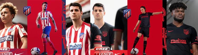 Comprar Camisetas de Futbol Atletico Madrid 2020