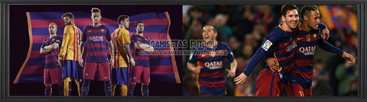 Comprar Camisetas de Futbol Barcelona 2015
