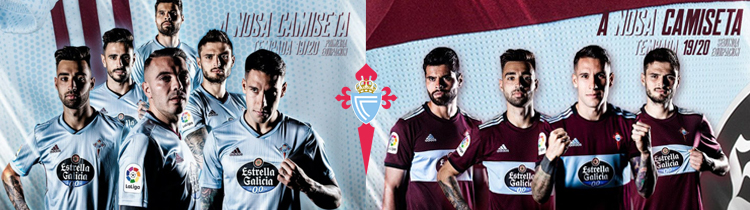 Comprar Camisetas de Futbol Celta de Vigo 2020