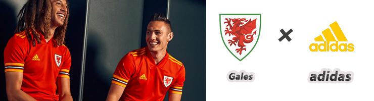 Comprar Camisetas de Futbol Gales 2020