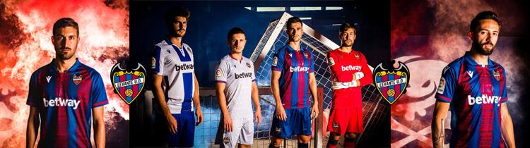 Comprar Camisetas de Futbol Levante 2020