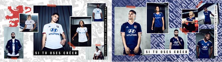 Comprar Camisetas de Futbol Lyon 2020