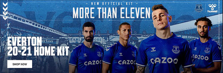 comprar camisetas de futbol Everton